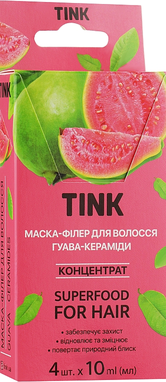 "Концентрированная маска-филлер для волос ""Гуава"" - Tink For Hair"