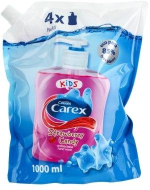 Жидкое антибактериальное мыло - Carex Stawberry Candy (Refill)