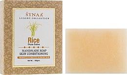 """Духи, Парфюмерия, косметика Витаминизированное мыло ручной работы с растительными экстрактами """"Рис"""" - Synaa Luxury Collection Rice Handmade Soap"""