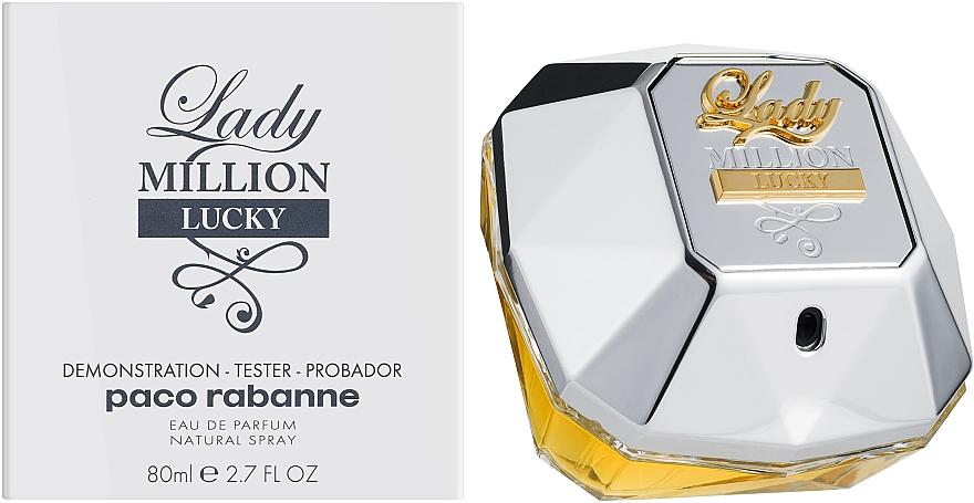 Paco Rabanne Lady Million Lucky - Парфюмированная вода (тестер)