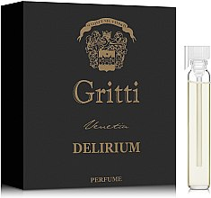 Духи, Парфюмерия, косметика Dr. Gritti Delirium - Духи (пробник)
