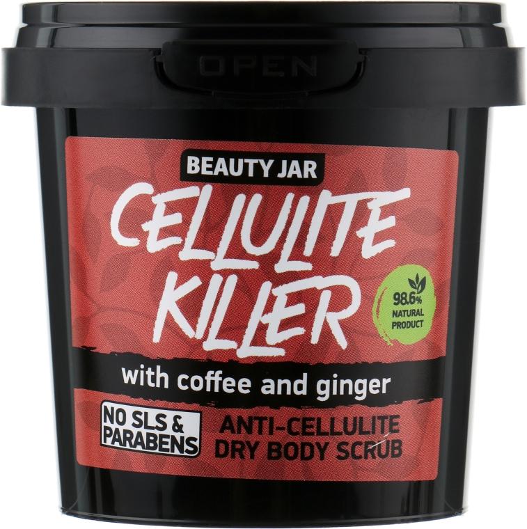 """Скраб для тела антицеллюлитный """"Cellulite Killer"""" - Beauty Jar Anti-Cellulite Dry Body Scrub"""