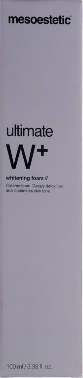 Осветляющая пенка для умывания - Mesoestetic Ultimate W+ Whitening Foam
