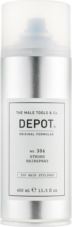 Лак для волос, сильной фиксации - Depot Hair Styling 306 Strong Hairspray