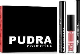 Духи, Парфюмерия, косметика Набор - Pudra Try It Kit (mascara/10ml + pencil/3ml + gloss/2.5g)