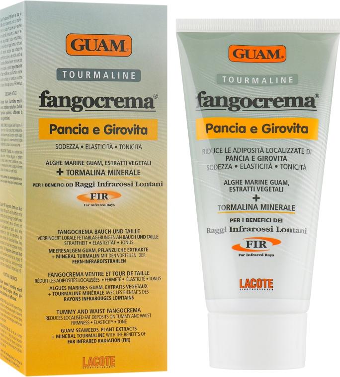 Крем для живота и талии с микрокристаллами турмалина - Guam Fangocrema Tourmaline