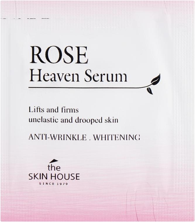 Омолаживающая сыворотка с экстрактом розы - The Skin House Rose Heaven Serum (пробник)
