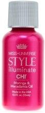 Духи, Парфюмерия, косметика Масло моринга и макадамии - CHI Miss Universe Style Illuminate Moringa&Macadamia Oil