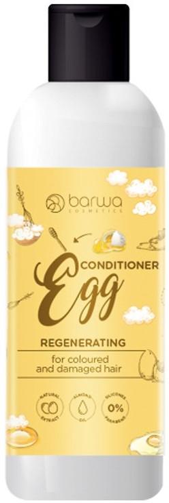 Регенерирующий кондиционер для окрашенных и поврежденных волос - Barwa Herbal Egg Conditioner