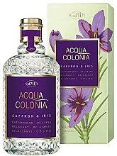 Духи, Парфюмерия, косметика Maurer & Wirtz 4711 Acqua Colonia Saffron & Iris - Одеколон