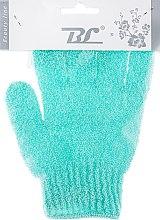 Духи, Парфюмерия, косметика Мочалка-перчатка банная, бирюзовая - Beauty Line