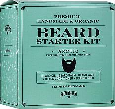 Духи, Парфюмерия, косметика Набор - Golden Beards Starter Beard Kit Arctic (balm/60ml + oil/30ml + shm/100ml + cond/100ml + brush)