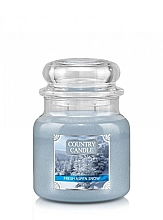 Духи, Парфюмерия, косметика Ароматическая свеча - Country Candle Fresh Aspen Snow