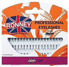 Духи, Парфюмерия, косметика Набор пучковых ресниц - Ronney Professional Eyelashes 00028