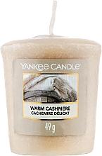 "Духи, Парфюмерия, косметика Ароматическая свеча ""Теплый кашемир"" - Yankee Candle Warm Cashmere"