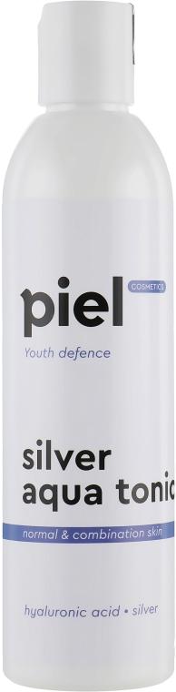 Тонік для нормальної/ комбінованої шкіри - Piel cosmetics Silver Aqua Tonic — фото N2