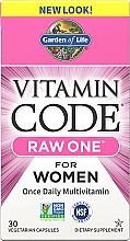 Духи, Парфюмерия, косметика Женские мультивитамины - Garden of Life Vitamin Code Raw One for Women