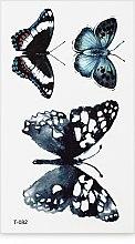 Духи, Парфюмерия, косметика Стикер-тату, 6х11.5 см, T-082 - Omkara