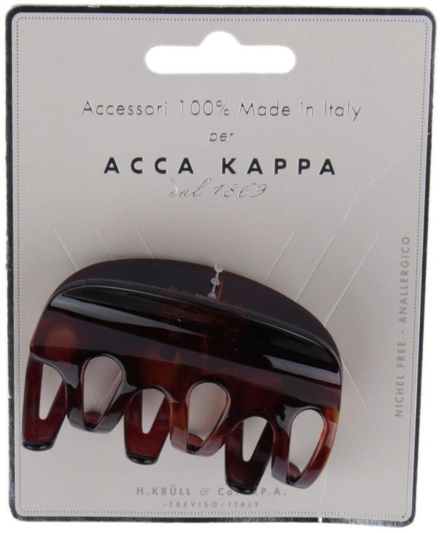 """Краб для волос """"Овал"""", коричневый - Acca Kappa"""