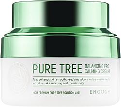 Духи, Парфюмерия, косметика Успокаивающий крем с экстрактом чайного дерева - Enough Pure Tree Balancing Pro Calming Cream
