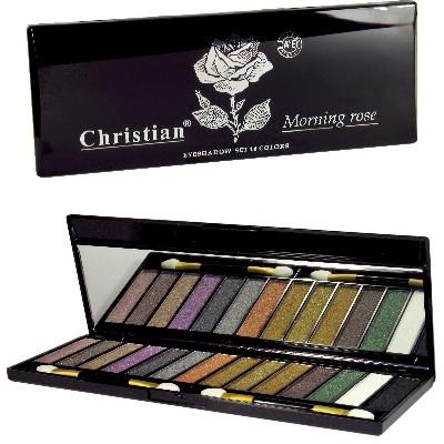 Палетка теней для век - Christian Morning Rose Eyeshadow Palette