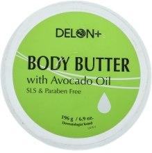 Духи, Парфюмерия, косметика Масло для тела с авокадо - Delon Laboratories Body Butter With Avocado Oil