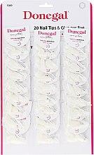 Духи, Парфюмерия, косметика Набор искусственных ногтей - Donegal Nail Tips & Glue