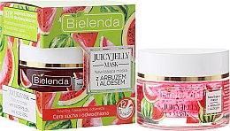 Духи, Парфюмерия, косметика Увлажняющая маска с арбузом и алоэ вера - Bielenda Juicy Jelly Mask