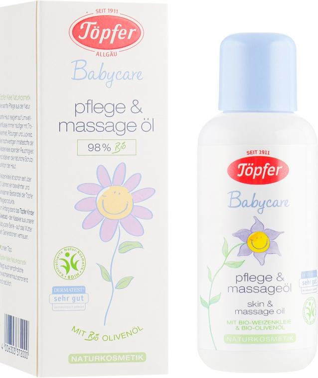 Детское масло для тела с органическими маслами - Topfer Babycare Baby Skin Oil