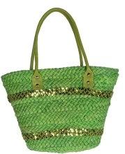 Духи, Парфюмерия, косметика Плетеная сумка - Marina de Bourbon Green
