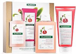 Духи, Парфюмерия, косметика Набор - Klorane Pomegranate (shm/200ml + cond/200ml)