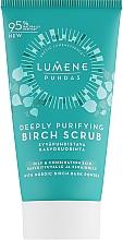 Духи, Парфюмерия, косметика Глубоко очищающий березовый скраб для лица - Lumene Puhdas Deeply Purifying Birch Scrub