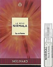 Духи, Парфюмерия, косметика Molinard Le Reve Nirmala - Туалетная вода (пробник)