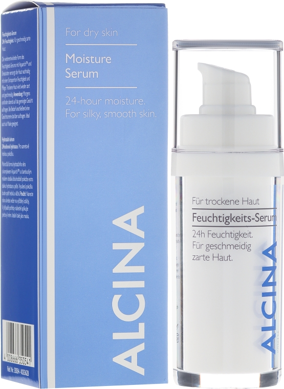 Увлажняющая сыворотка для лица - Alcina Moisturising Serum