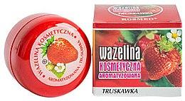 "Духи, Парфюмерия, косметика Вазелин для губ ""Клубника"" - Kosmed Flavored Jelly Strawberry"