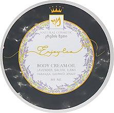 """Духи, Парфюмерия, косметика Натуральное крем-масло для тела """"Лаванда, шалфей и иланг"""" - Enjoy & Joy Enjoy Eco Body Cream-oil"""