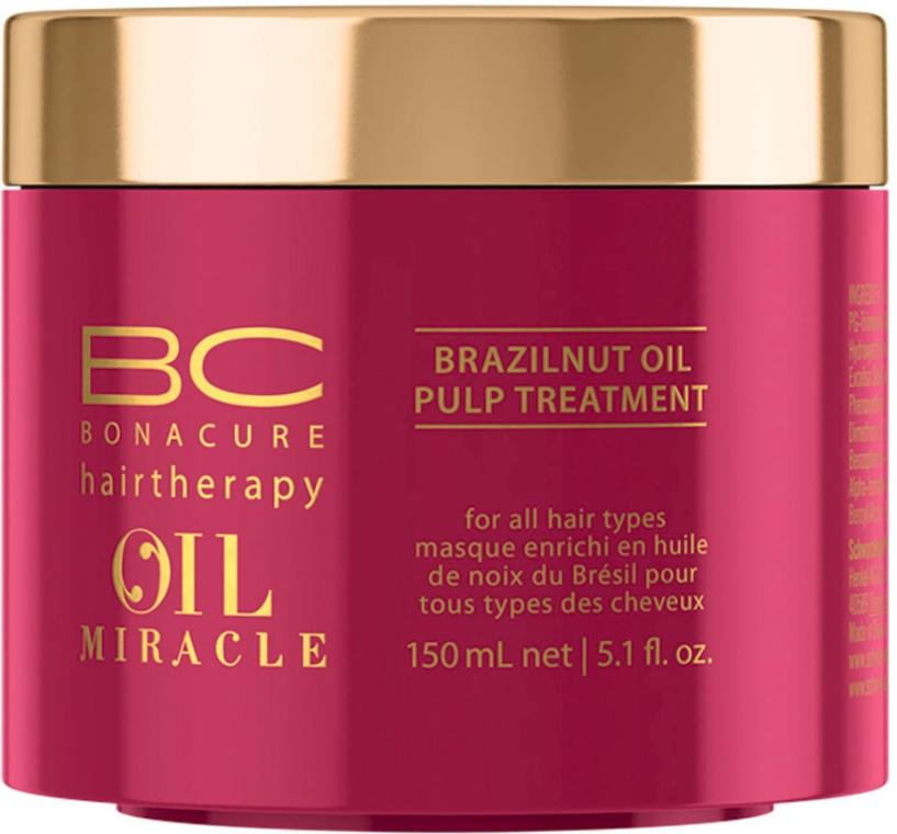 Маска с маслом бразильского ореха для всех типов волос - Schwarzkopf Professional Bonacure Oil Miracle Brazilnut Pulp Treatment