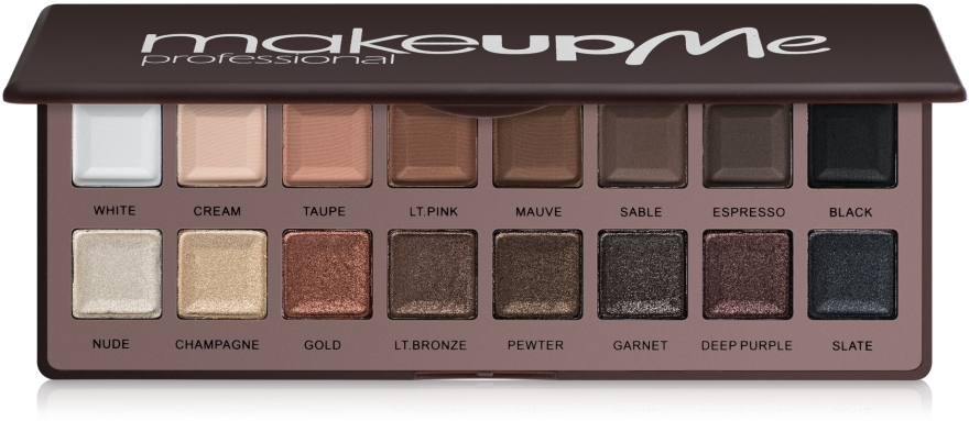 Профессиональная палитра теней на 16 цветов, P16-1 - Make Up Me