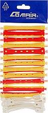 Духи, Парфюмерия, косметика Бигуди для холодной завивки, жёлто-красные, d9 - Comair