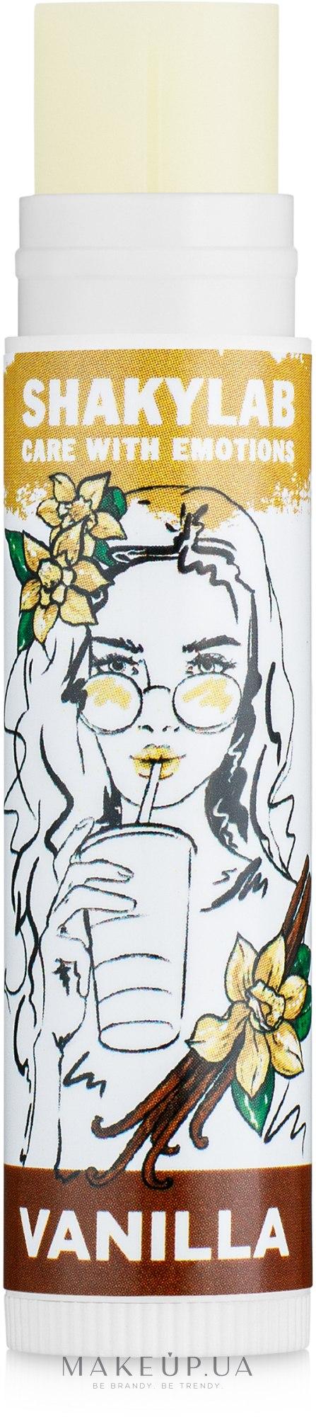 "Бальзам для губ ""Vanilla"" - SHAKYLAB Lip Balm — фото 5g"