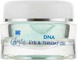 Духи, Парфюмерия, косметика Гель для кожи век и шеи с нуклеопротеидами - Spa Abyss DNA Eye&Throat Gel