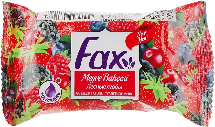 """Туалетное мыло """"Лесные ягоды"""" - Fax Wildberry Bloom Soap"""