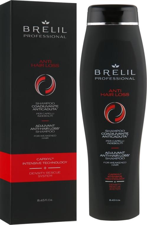 Шампунь против выпадения волос со стволовыим клетками и капиксилом - Brelil Anti Hair Loss Shampoo