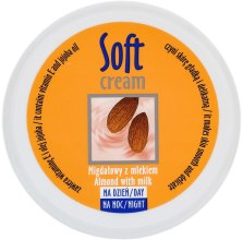 "Духи, Парфюмерия, косметика Крем для тела ""Миндаль"" - Verona Laboratories Soft Cream Almond With Milk"