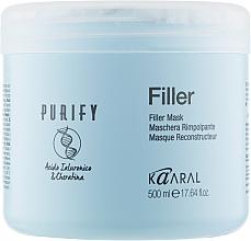 Духи, Парфюмерия, косметика Маска-филлер для волос с кератином и гиалуроновой кислотой - Kaaral Purify Filler Filler Mask