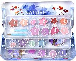 Духи, Парфюмерия, косметика Косметический набор в пенале, 3 уровня - Markwins Frozen