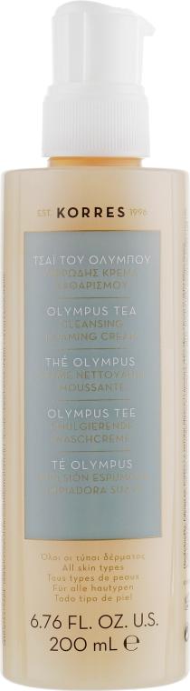 Крем-гель для умывания с горным чаем - Korres Olympus Tea Cleansing Foaming Cream