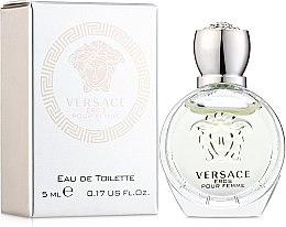 Versace Eros Pour Femme - Туалетная вода (мини) — фото N1