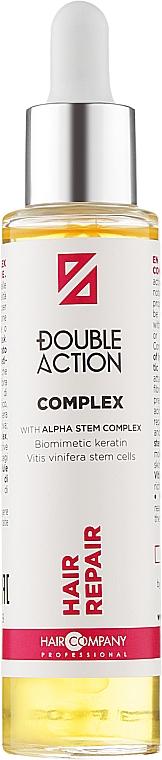 Комплекс-концентрат відновлювальний - Hair Company Double Action Hair Repair Complex — фото N1