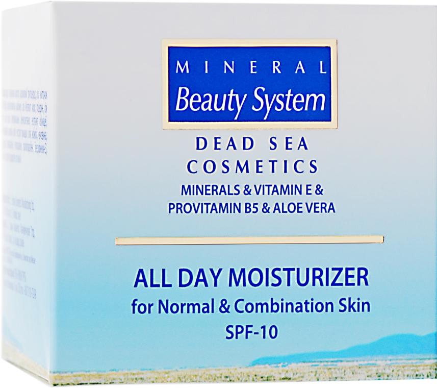 Увлажняющий дневной крем для лица для нормальной и комбинированной кожи - Mineral Beauty System All Day Moisturizer SPF 10